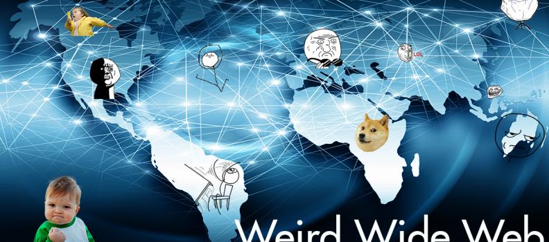 Weird Wide Web Borrel